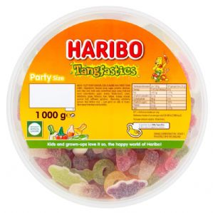 Haribo Tangfastics Tub Of 1KG